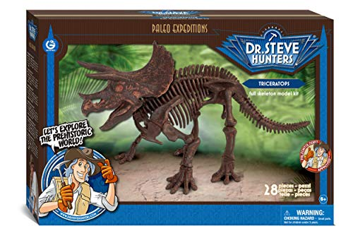 Dr. Steve Hunters cl1649 K – Paleo Expeditions, Triceratops