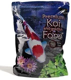 Blackwater Creek Max Growth Koi Fish Food - 40 lbs. (Medium Pellet) with Exclusive BONUS Max Ponds Calendar Magnet