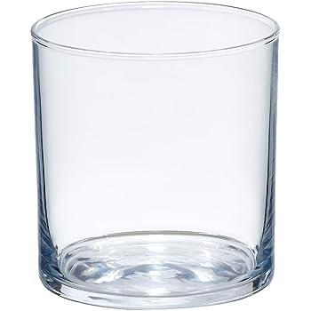 AmazonBasics Ridgecrest Old Fashioned Glass Drinkware Set, 11.5-Ounce, Set of 6