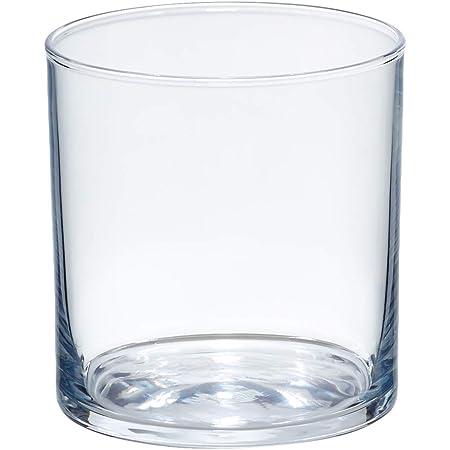 Amazon Basics Ridgecrest Old Fashioned Glass Drinkware Set, 11.5-Ounce, Set of 6