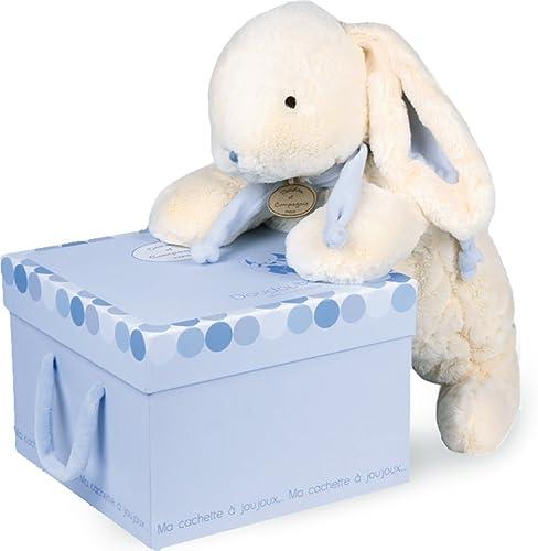 barato y de alta calidad Doudou et Compagnie, Marioneta felpa felpa felpa con compartimento Pijamas, azul (azul)  nuevo sádico