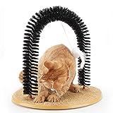 Peluquero para Gatos Cat Shoeninging, Sencillo de Montar el raspador de Gatos, 3 en 1 Funcional Cat Arch