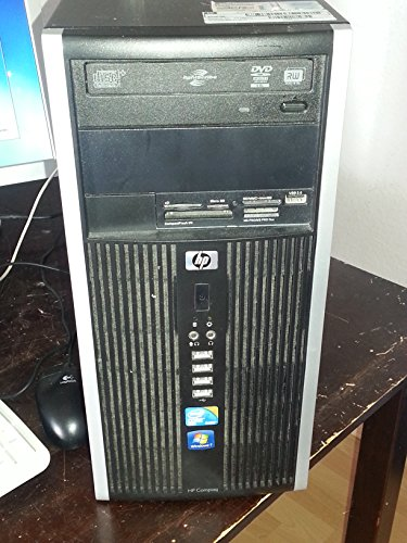 HP Compaq 8000Elite Desktop Business PC (Core 2Quad Q84002,66GHz, 4GB RAM, 250GB HDD, Grabadora de DVD, GMA X4500, sin sistema operativo) CMT
