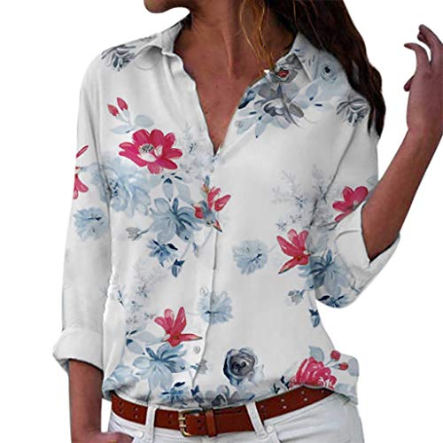 Damen Shirt Rundhals Falten Shirt Stretch Tunika,Damen Elegant Business Bluse Schluppenshirt T-Shirt mit Schleife V-Ausschnitt Herbstkleidung Frauen Tops