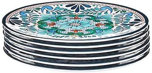 "Certified Talavera 9"" Salad Plates (Set of 6)"
