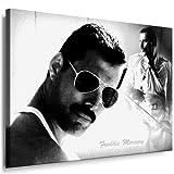 fotoleinwand24 Freddie Mercury - Queen Kunstdruck 100x70cm