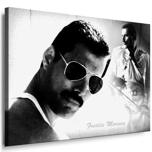 Impression artistique « Freddie Mercury - Queen » 100 x 70 cm Poster/photo déjà montée sur châssis - Impressions d'œuvres pop art, poster, photos décoratives, impressions artistiques de star de la musique.