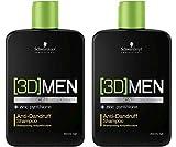 Schwarzkopf 3D Men Shampoo anti-forfora 2 x 250 ml = 500 ml