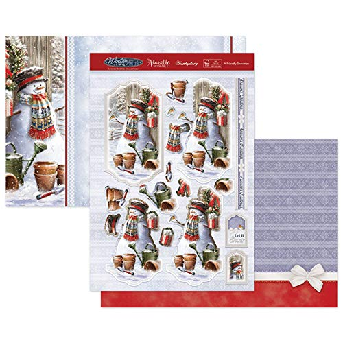 Hunkydory Crafts Christmas 2020 WInter WIshes- A Friendly Snowman SNOWY20-901