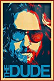 POSTER STOP ONLINE The Big Lebowski - Framed Movie Poster/Print (The Dude - Pop-Art) (Size 24' x 36')