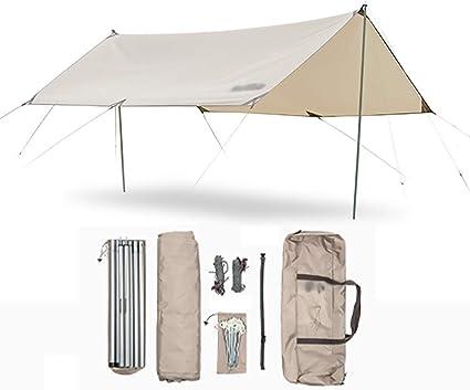 Tienda al aire libre Tarp, camping Lona impermeable ...