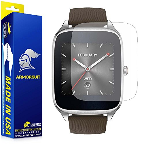 ArmorSuit MilitaryShield Anti-Glare Screen Protector (2 Pack) for ASUS ZenWatch 2-1.63' - Matte Anti Bubble Film