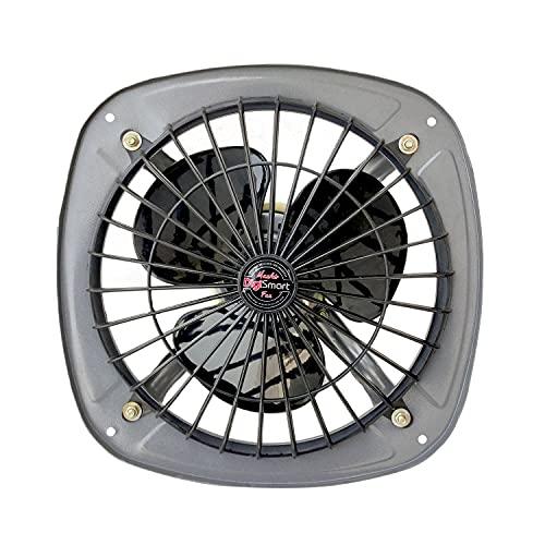 DIGISMART HIGH Speed 225mm RPM 2880 (9 Inches) Fresh Air Exhaust Fan (Silver) 1 Year Warranty