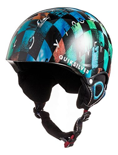 Quiksilver The Game - Casco de snowboard para niño, Multicolor, talla 54