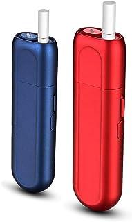 加熱式タバコ 究極進化互換機 加熱式たばこ 電子たばこ 互換機 Type C接続口採用 急速充電 自動清掃機能搭載 恒温加熱 (レッド)