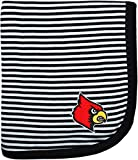 Creative Knitwear University of Louisville Cardinals Striped Baby and Toddler Blanket