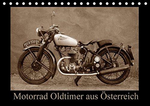 Motorrad Oldtimer aus Österreich (Tischkalender 2016 DIN A5 quer): Motorrad Veteranen und Klassiker der besonderen Art (Monatskalender, 14 Seiten )