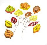 Baker Ross Moosgummi Blätterform Stempel für...