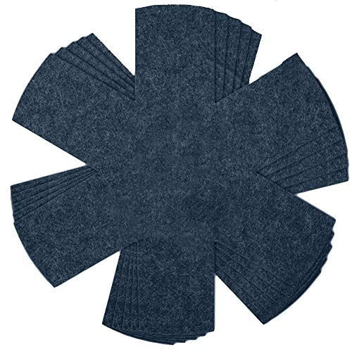 Protección apilable para sartenes ZSWQ-Protector de Olla y Sartén para Aislamiento,Ideal para evitar Rayaduras en Sartenes Antiadherentes de Acero Inoxidable o Gres