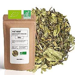 feuilles séchées de menthe poivrée bio pour tisane
