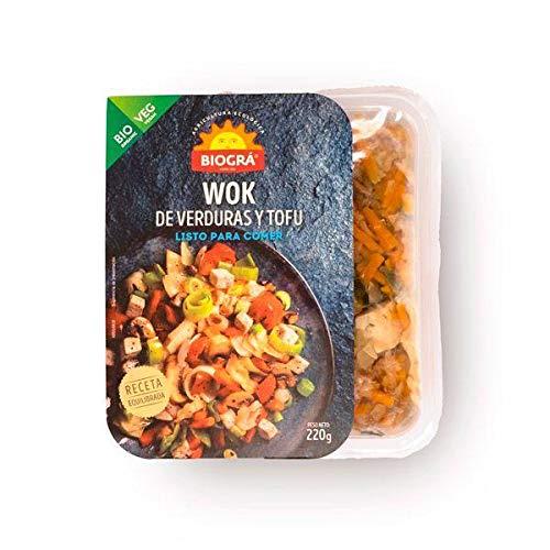Wok de Verduras y Tofu Biográ 220g