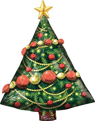 amscan Guirlande de Sapin de Noël Multicolore