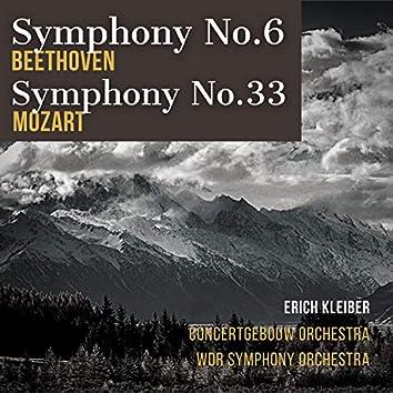 Beethoven: Symphony No.6 - Mozart: Symphony No.33 (1953 Recordings)