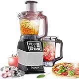 Procesador de alimentos compacto Nutri Ninja [BL490EU2] 1200 W, plateado