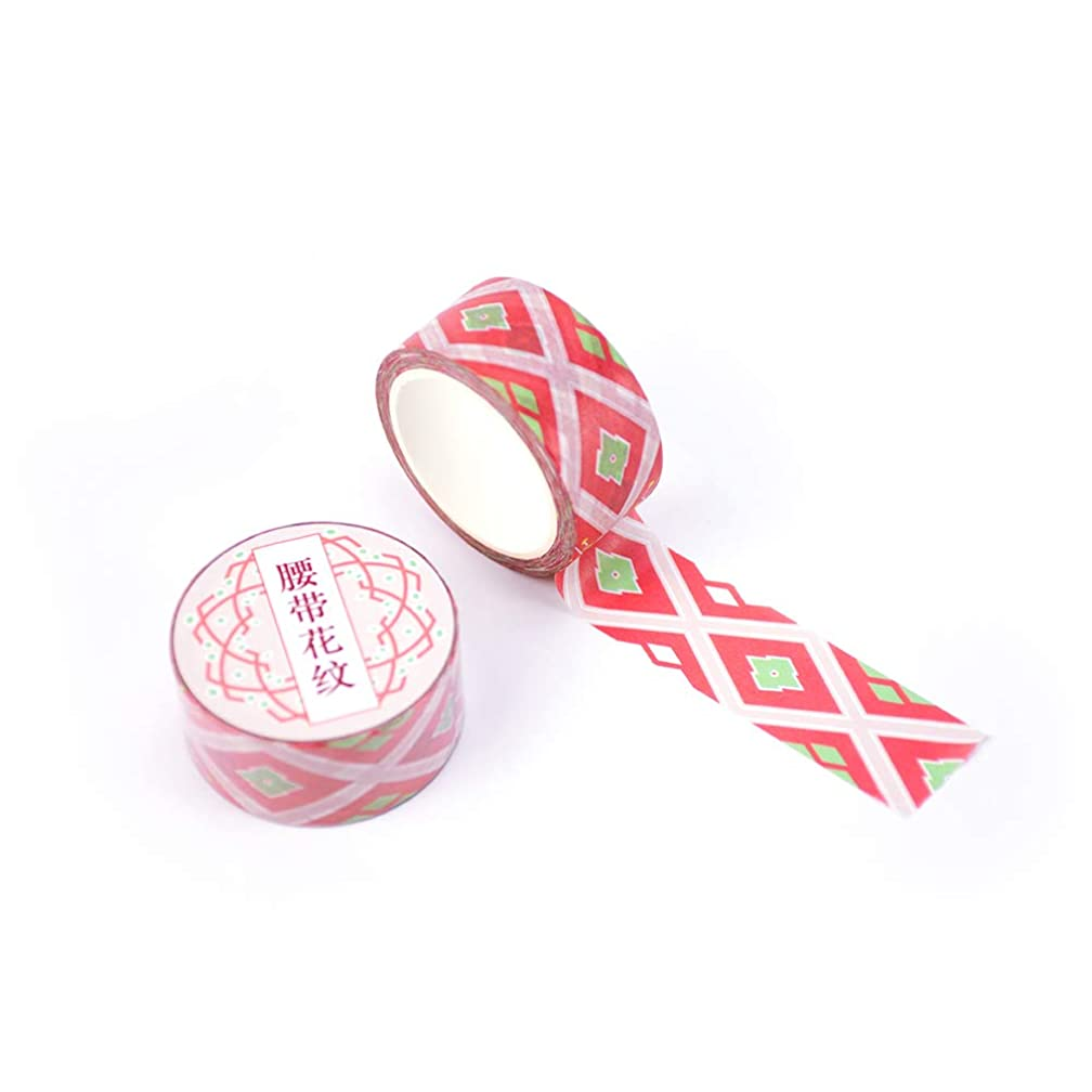 Terracotta Army Chinese Style Washi Paper Tape DIY Decor Scrapbooks, Cards, Journals, Planners, Gifts