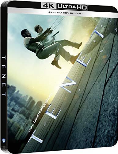 Tenet Steelbook 4k UHD + Blu-ray [Blu-ray]