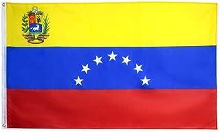 hxflag 7 Stars Venezuela Flag 1954 3x5 Republic of Venezuelan Flags with Brass Grommets 3 X 5 Ft