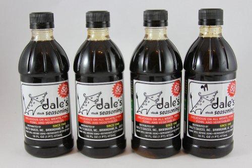 Dale's Liquid Steak Seasoning, 16 ounces (Pack of 4)