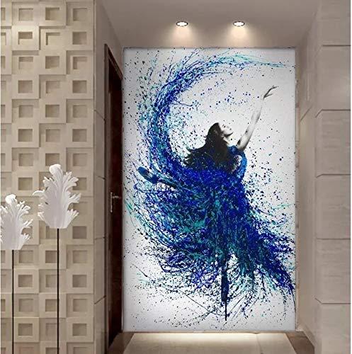UIOLK La Pose de Ballet Moderna, Simple y Elegante es un Cartel de impresin de Mural de nia de Ballet Impreso de Alta definicin decoracin de Sala