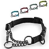 CarlCurt - Training Line: Retriever-Hundehalsband Aus Strapazierfähigem Nylon, Verstellbar, M...