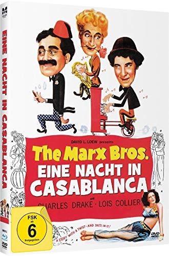 The Marx Bros. - Eine Nacht in Casablanca - Limited Mediabook-Edition (Blu-ray+DVD plus Booklet/digital remastered)