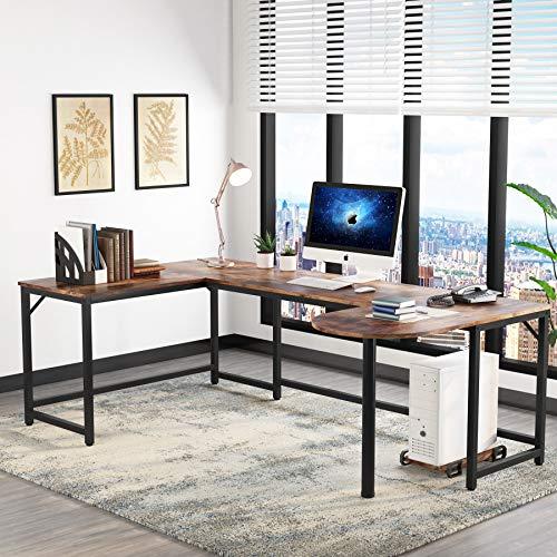 Tribesigns U Shaped Office Desk