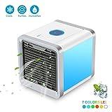 Mini aire enfriador mobile climática dispositivos Air Cooler con enfriamiento de agua habitaciones deshumidificador Mini aire acondicionado sin Canalizado Manguera para casa