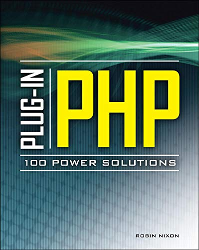 Plug-In PHP: 100 Power Solutions