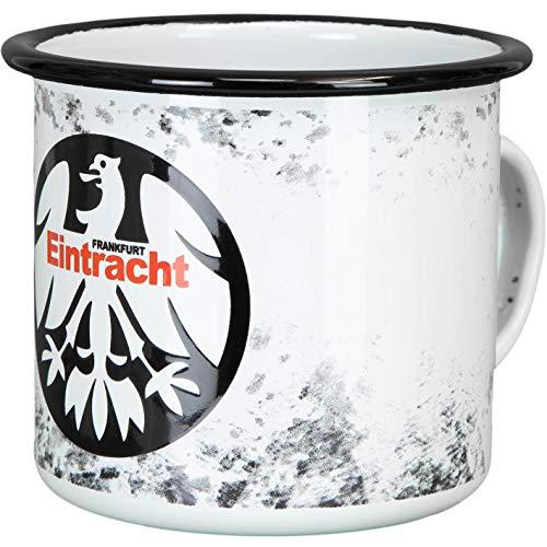 Eintracht Frankfurt Emaille Tasse (one size, weiß)