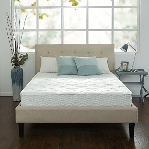 ZINUS 8 Inch Quilted Pocket Spring Mattress / Bed-in-a-Box, Full