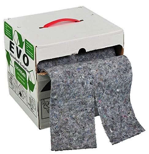 EVO universale 100cm x 40m in scatola rotolo assorbente–assorbe 260litri