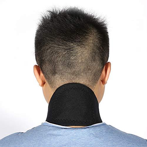 Turmalin-Nackenpolster, selbsterhitzende Nackenstütze, magnetisches Nackenschutzmassagegerät gegen Schmerzen Steifheit Schmerzlinderung Wiederherstellung von Verletzungen