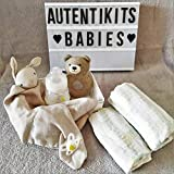 AutentiKits Regalos originales para bebes - Gift boxes para bebes recien nacidos - Cesta regalos para bebe - Kit Bienvenida I