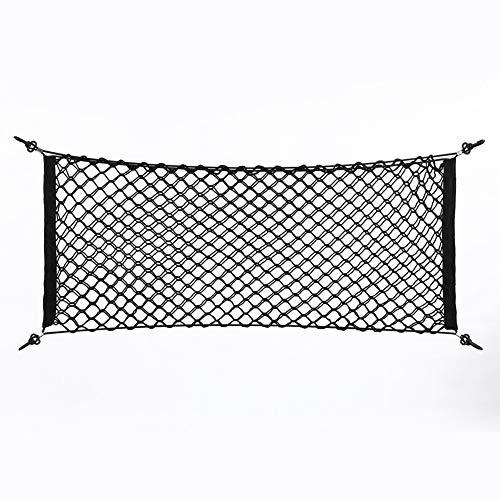 Mesh Bag - Trunk Opslag, Nylon Plastic Auto Vrachtwagen Achterkant Bagage Haak Net Tas 100x40cm