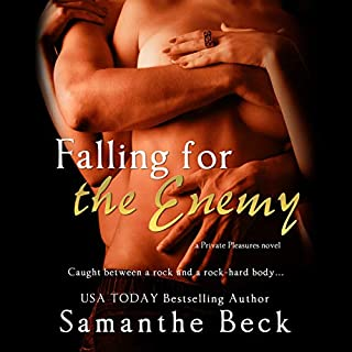 Falling for the Enemy     Private Pleasures, Book 3              By:                                                                                                                                 Samanthe Beck                               Narrated by:                                                                                                                                 Lucy Rivers                      Length: 6 hrs and 2 mins     Not rated yet     Overall 0.0