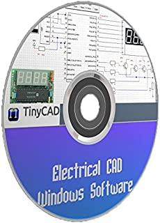 Electrical CAD Drawing Circuit Diagrams Maker TinyCAD PC Software