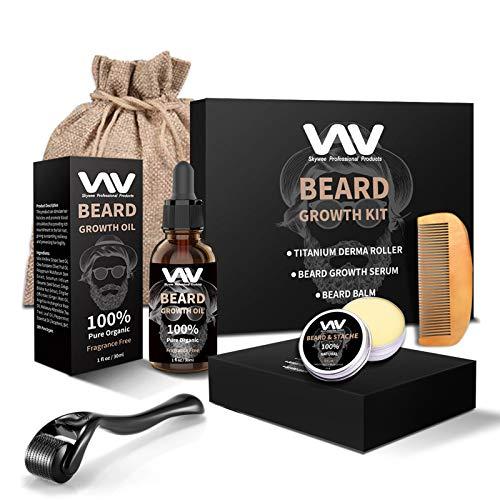 Beard Growth Kit, Beard Growth Oil …