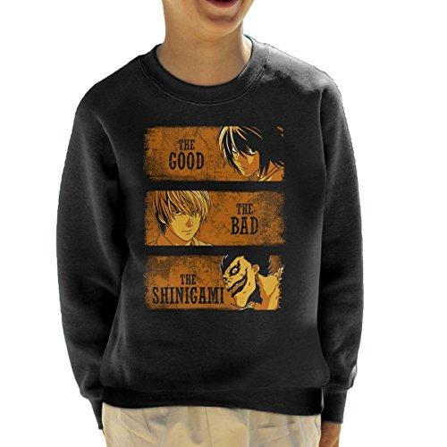 Death Note The Good The Bad And The Shinigami Kid's Sweatshi