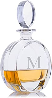 Personalized Crystalize Cooper Crystal Liquor Whiskey Decanter Engraved & Monogrammed - Great Gift for Weddings and Groomsmen