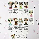 Pack 10 marcapáginas Frida Kahlo